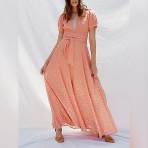 Free People   The Wanderer Maxi Dress   Coral   6